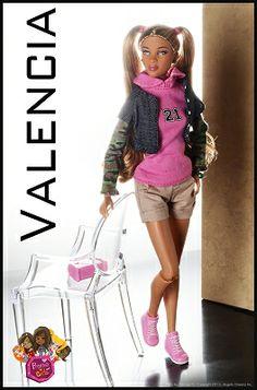 Prettie Girls Valencia Doll