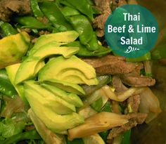 Domestic Bliss Squared: Thai Beef & Lime Salad (gluten-free!)
