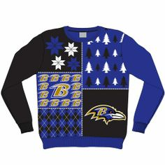 Never too early to buy your ugly (awesome) Ravens Sweater