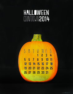 FREE Printable Halloween Countdown 2014