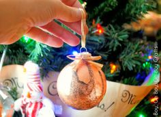 A fun Christmas kid's craft! Dipped ornaments from @Stacey (Boy, Oh Boy, Oh Boy!) #fabulouslyfestive
