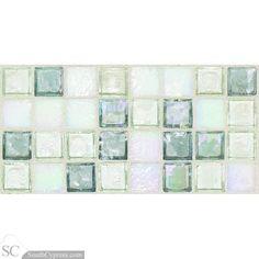 "Egyptian Glass 1"" x 1"" - Moonstone Blend Mosaic By SouthCypress.com"