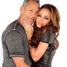 Leah Remini couple