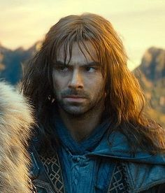 NICE FACE. Seriously though, glaring is perfected in the line of Durin.