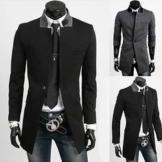 Slim Fit Men Fashion Long Blazer Coat | Sneak Outfitters