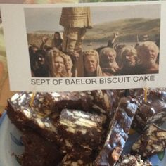 Sept of Baelor Biscuit Cake