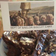 Sept of Baelor Biscuit Cake