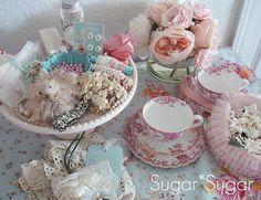 inspiration,chic,craft,ideas,vintage,aqua,flowers,jewelry-016c42c1ebe221f5da20151d6adf76a9_h