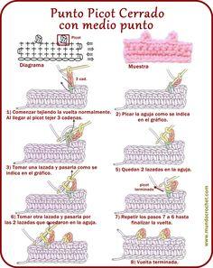 Punto Picot - Mundo Crochet