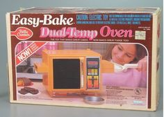 Making something in your Easy-Bake Oven was your favorite way to spend a Friday night.