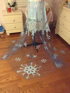 Elsa Frozen cosplay tutotrial