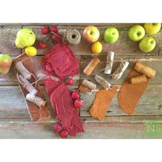 Fruit Leathers | Apple Cinnamon, Strawberry, and Pear! Full recipes on ...