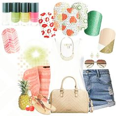 Summer is almost here!! Get ready with June's Sister Style Exclusive wraps - fruit stand! Here is some fashion inspiration and comparable Jamberry pairings. Adorable! JamwithElvira.com