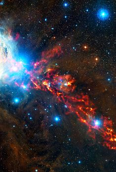 """Psalm 19:1"""" The heavens declare the glory of God; And the firmament shows His handiwork."""" Star Formation In Orion Nebula"""