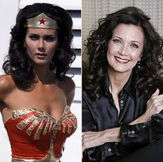 I wanted to look like her when I grew up. Linda Carter (Wonder Woman) was SO my hero growing up