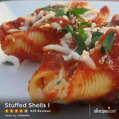 "Stuffed Shells I | ""My four kids and husband loved it and couldn't get enough. This is a keeper and a favorite in our house."""