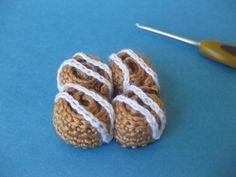 Cinnamon roll - free pattern free pattern, cinnamon rolls, crochet patterns