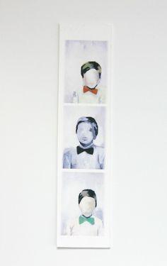 Mini photobooth print by Kiki & Polly. Love