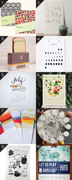 2013 Calendars – Part 9