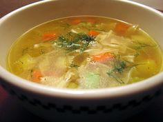 Hallelujah! Chicken Soup From Scratch.