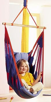 Indoor swing seat. Want this for kids' sensory room!