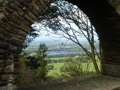 The view from the pigeon tower, of Rivington and Anglezarke reservoirs.