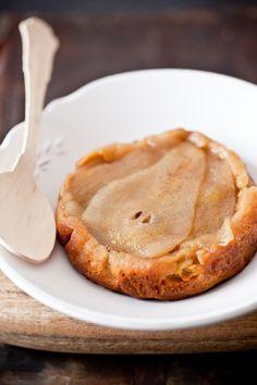 gluten free pear cake.