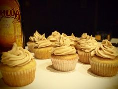 White Russian Cupcakes | Cupcakes for Dinner