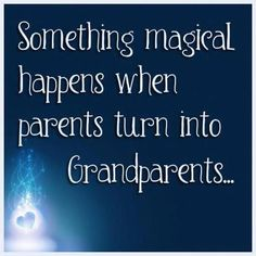 I love my Grandson... he's the one that's magical.
