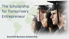 $2,000 GreenPal Scholarship for high school seniors & college students. Deadline Feb. 28