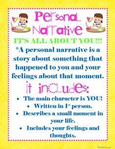 Personal Narratives!