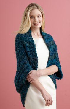 Image of Simple Crochet Shrug
