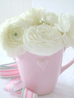 .pretty in a pink cup