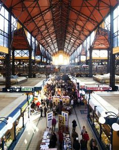 Insider tip: If you buy one thing at Budapest's Great Market Hall, make it a packet of smoked paprika.