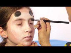 Panda Face Painting Tutorial