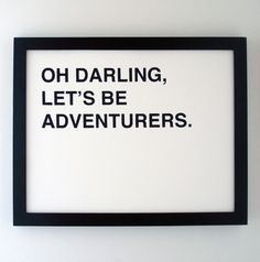 Be adventurous #JuicyWords