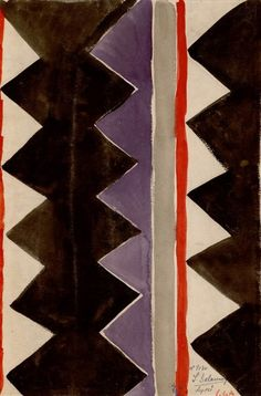 Textile design by Sonia Delaunay