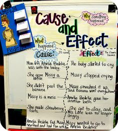 Step into 2nd Grade with Mrs. Lemons: Amelia Bedelia cause and effect
