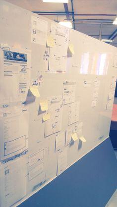 #Prototype Wall - @ my workplace