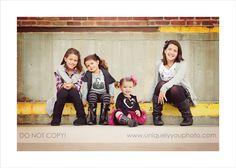 Sisters - black/grey/pink