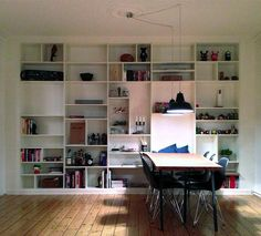 Billy bookcase wall hack