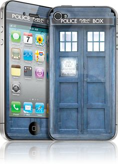 Tardis Phone skins for everybody!  Keep calm and don't blink!!!!