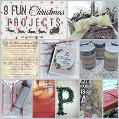 Great Christmas Projects…easy and fun!