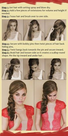 I do this all the time. And my hair isnt very long... maybe 1-2in. passed the shoulder