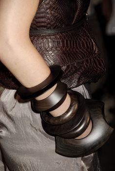 tags, wood bangles, wooden bangl, bracelets, chocol brown