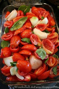 Wonderful Life Farm: Easy Homemade Spaghetti Sauce from Homegrown Tomatoes