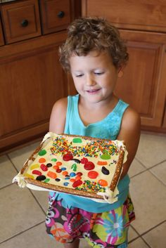 Edible Art Frames (on Play At Home Mom)