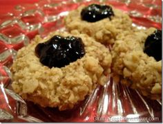 Gluten Free Thumbprint Cookies