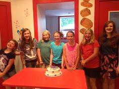 Grace's 11th birthday party at Carlo's Bakery Ridgewood!