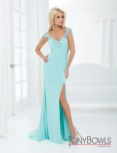 Tony Bowls Evenings Pageant Gown  style TBE11404